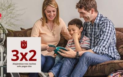 Promoción fin de semana largo con Papá: 3×2