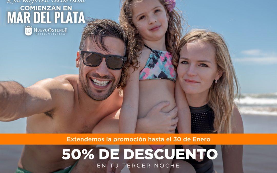 ¡Extendimos la promo! 50% DE DESCUENTO – Tus mejores recuerdos en Mar del Plata