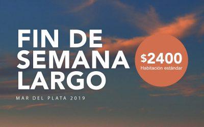 Este fin de semana largo, Mar del Plata es tu lugar